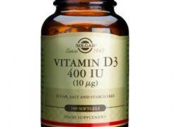 Solgar  Vitamin D3 400 IU