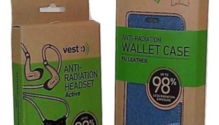 VEST – Anti-Radiation Wallet Case & Anti-Radiation Bluetooth Headset