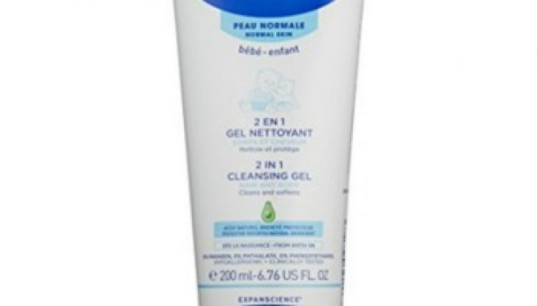 Mustela – 2 in 1 Cleansing gel