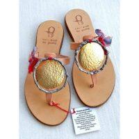 Guana - Χειροποίητα διακοσμημένα σανδάλια