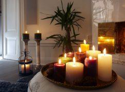 Αρωματικό κερί για να υποδεχθείτε το φθινόπωρο