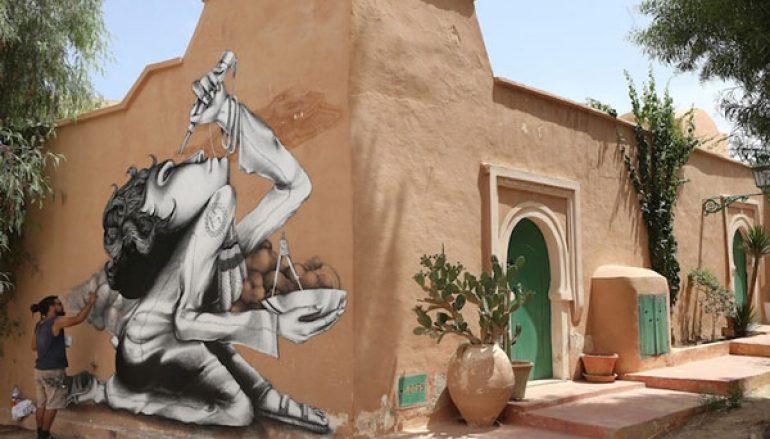Χωριό στην Τυνησία μεταμορφώθηκε σε υπαίθριο μουσείο τέχνης!