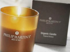 Philip Martin 's organic candle: Ένα υπέροχο δώρο για τους αγαπημένους σας