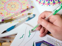Τα βιβλία ζωγραφικής δεν είναι μόνο για παιδιά