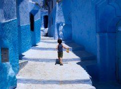 Ένα στρουμφοχωριό στο Μαρόκο!
