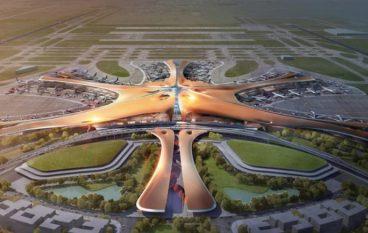 Το μεγαλύτερο αεροδρόμιο του κόσμου θα ανοίξει στο Πεκίνο