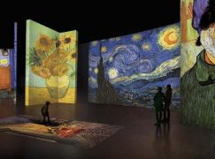 Η έκθεση «Van Gogh Alive» είναι ένα τεχνολογικό υπερθέαμα που καθηλώνει