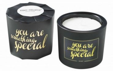 ME&MATS κεριά και σοκολάτες με μηνύματα αισιοδοξίας!