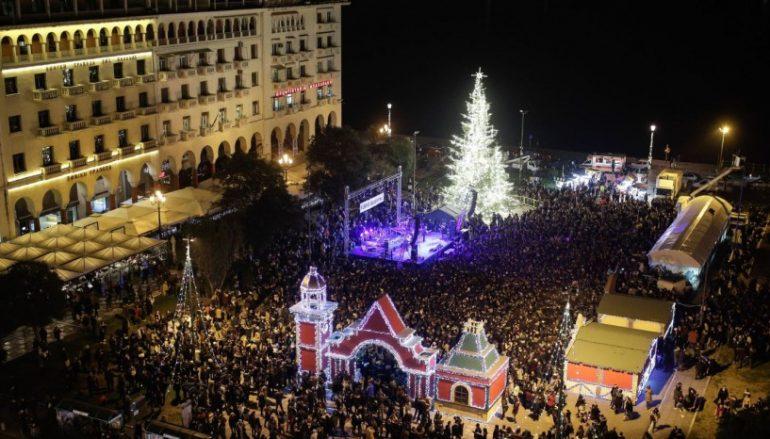 """""""Μύρισε"""" Χριστούγεννα στη Θεσσαλονίκη!"""