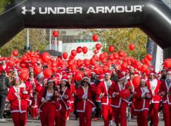 Με φόντο το Placebo το 4ο Santa Run!