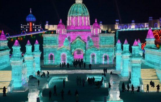 Μια ολόκληρη πόλη από πάγο στην Κίνα!