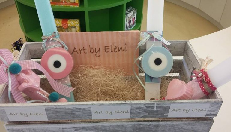 Χειροποίητες λαμπάδες Art By Eleni