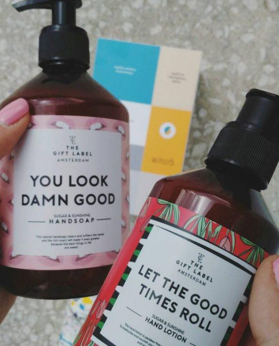 The Gift Label: Τα κρεμοσάπουνα με τα πιο αισιόδοξα μηνύματα!