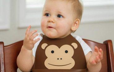 Σαλιάρες σιλικόνης Make My Day για trendy μωρά