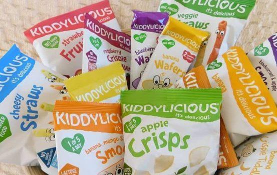 Kiddylicious snacks: Tα υγιεινά σνακ των μικρών μας παιδιών!