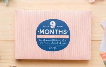 Ημερολόγιο εγκυμοσύνης για την πιο όμορφη ανάμνηση της ζωής σας
