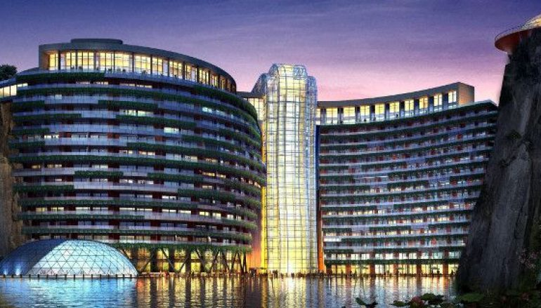 Αυτό το εντυπωσιακό ξενοδοχείο που μόλις άνοιξε έχει θέα στον… κάτω κόσμο: 88 μέτρα μέσα στη Γη