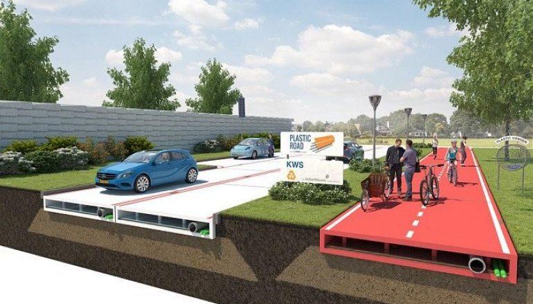Η Ολλανδία πέτυχε το ακατόρθωτο και κατασκευάζει τους δρόμους της από ανακυκλωμένα πλαστικά
