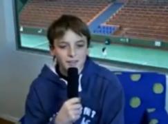 Όταν ο 13χρονος Τσιτσιπάς μιλούσε για το είδωλό του τον Φέντερερ!