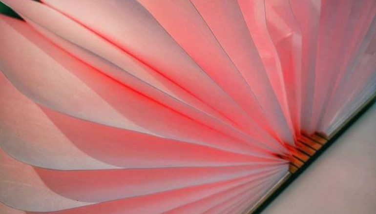 Φωτιστικό LED σε Σχήμα Βιβλίου που Ανοίγει 360 Μοίρες