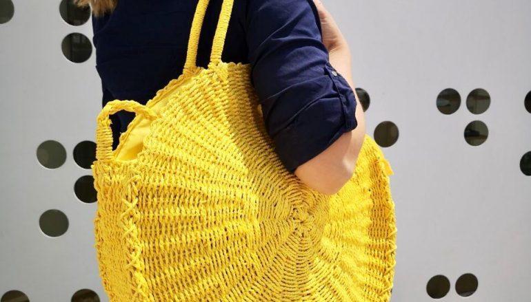 Treis Fashion: Η ψάθινη τσάντα που θα απογειώσει τα καλοκαιρινά outfits