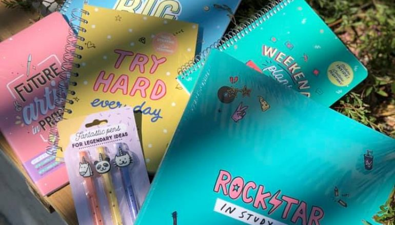 Mr. Wonderful: Τετράδια & στυλό για να σημειώνεις τις πιο τρελές σου ιδέες!