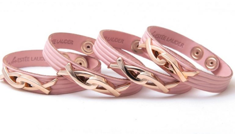 Το φετινό συλλεκτικό ροζ βραχιόλι της Estée Lauder για τον Καρκίνο του Μαστού
