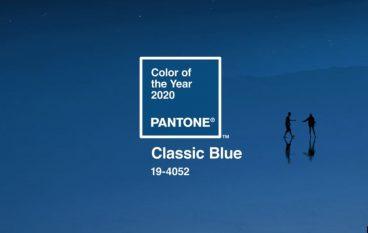 Classic Blue: Το χρώμα της χρονιάς από το Ινστιτούτο Pantone